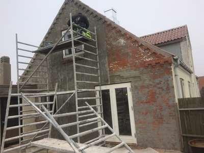 Sandblæsning af hus i Holstebro, Jylland & København, Sjælland